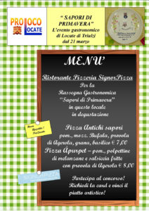 menu signor pizza 2017